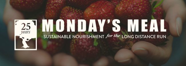 """Monday's Meal is a service of The Oaks Classical and Christian Academy. Each meal is selected specifically to feed and nourish parents for the long distance run. If you found it helpful, consider passing it along.  """"...and let us consider how to stimulate one another to love and good deeds..."""" Hebrews 10:24"""