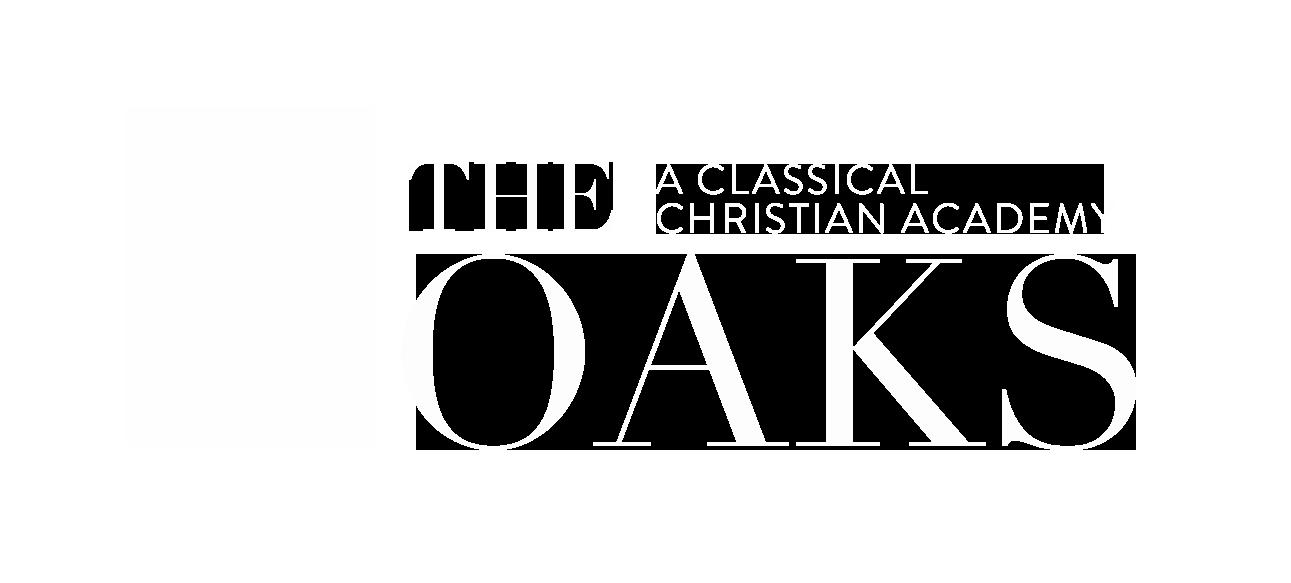 Official Oaks Logo White